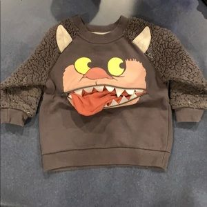 Other - Where the Wild Things Are sweatshirt w/secret spot